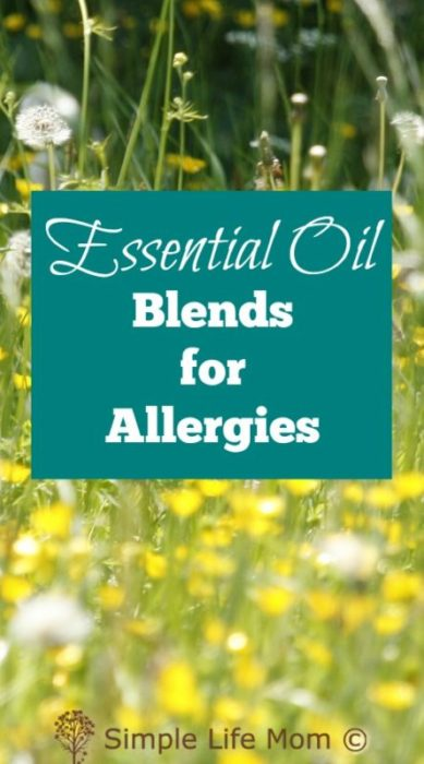 4 Essential Oil Blends for Allergies