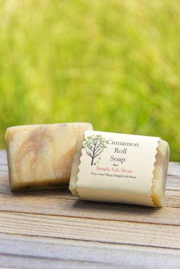 Cinnamon Roll Soap by Simple Life Mom - 5 More Fall Soap Recipes