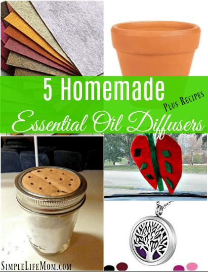 5 Homemade Essential Oil Diffuser Methods Plus Recipes