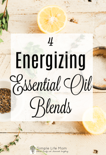 4 Energizing Essential Oil Blends from Simple Life Mom