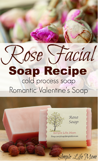 Rose Soap Recipe – Cold Process Romantic Face Bar