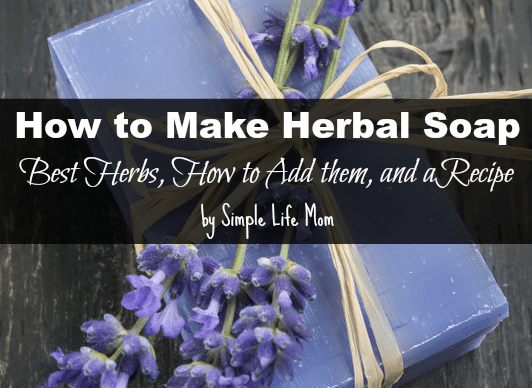 How to Make Herbal Soap - Methods and Recipe by Simple Life Mom