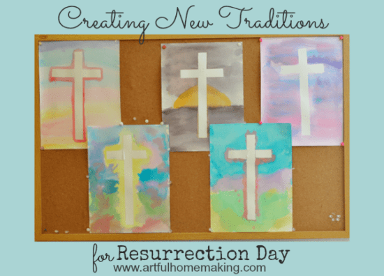 Homestead Blog Hop Feature - Creating New Traditions for Resurrections Day