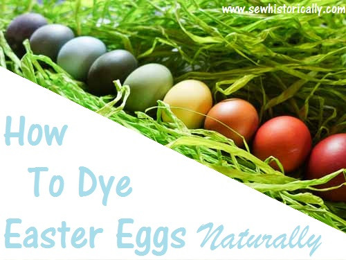 Homestead Blog Hop Feature - How to Dye Easter Eggs Naturally
