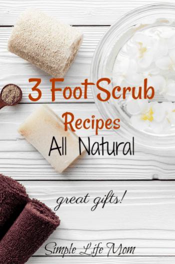 3 Foot Scrub Recipes for Pretty Summer Feet