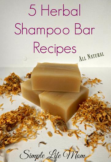 5 Herbal Shampoo Bar Recipes from Simple Life Mom