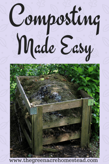 Homestead Blog Hop Feature - Composting-Made-Easy