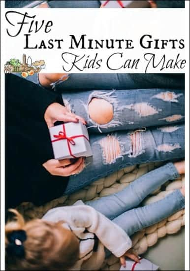 Hoemstead Blog Hop Feature - Five-Last-Minute-Gifts-Kids-Can-Make-l-Handmade-and-homemade-gifts-ideas-made-by-kids-l-Homestead-Lady.com_