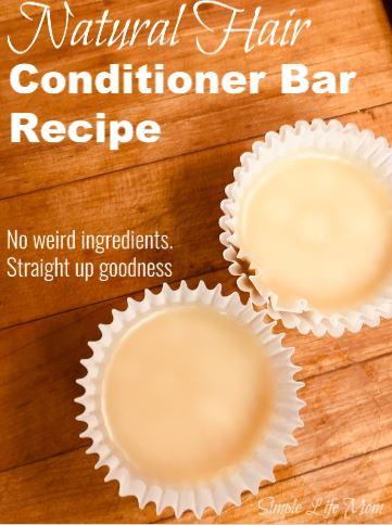 Conditioner Bar Recipe – Natural Handmade Conditioner Bar