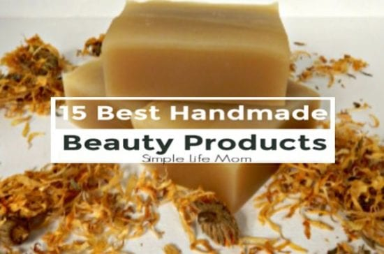15 Best Handmade Beauty Products by Simple Life Mom