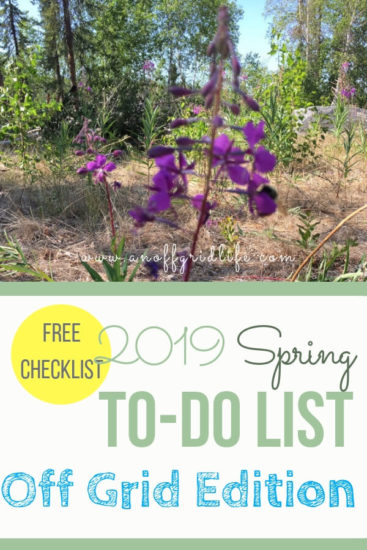Homestead Blog Hop Feature - Spring-To-Do-List