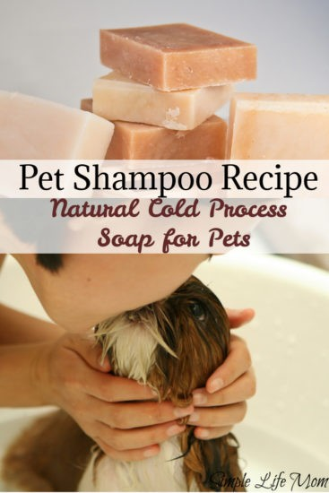 Natural Pet Shampoo Recipe by Simple Life Mom