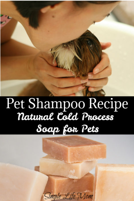Natural Pet Shampoo Recipe from Simple Life Mom