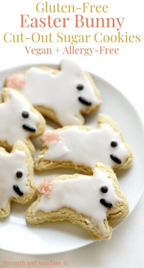Homestead Blog Hop Feature - Gluten-Free-Easter-Bunny-Cut-Out-Sugar-Cookies-Vegan-Allergy-Free