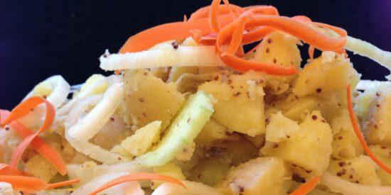 Homestead Blog Hop Faeture - Cookbook-japanese-potato-salad-Fall-Harvest