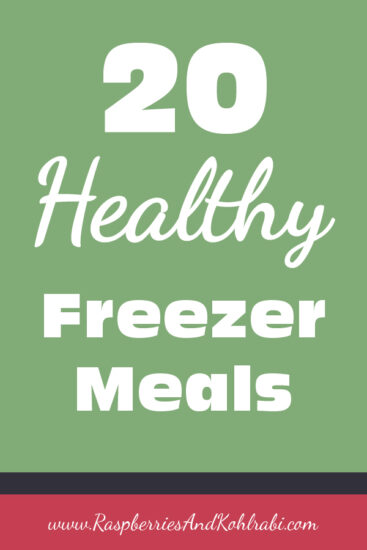 Homestead Blog Hop Feature - 20 Healthy freezer Meals