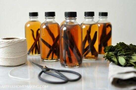 Homestead Blog Hop Feature - handmade-vanilla-extract-gifts
