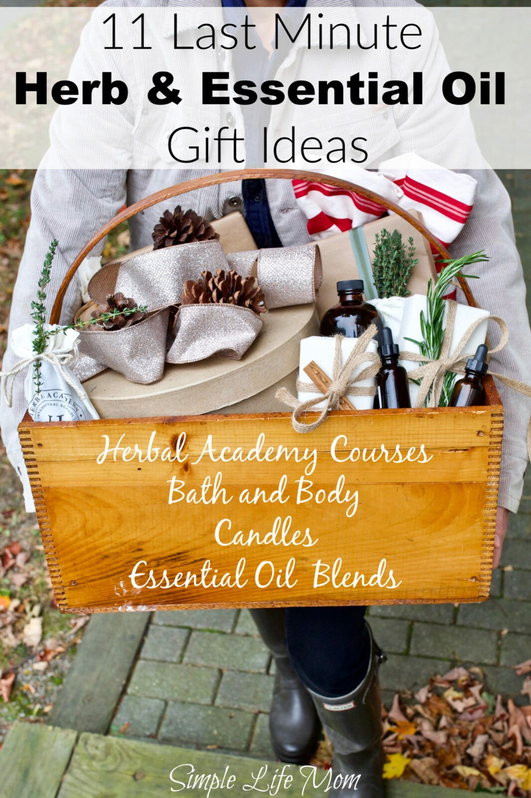 11 Last Minute Herb and Essential Oil Gift Ideas