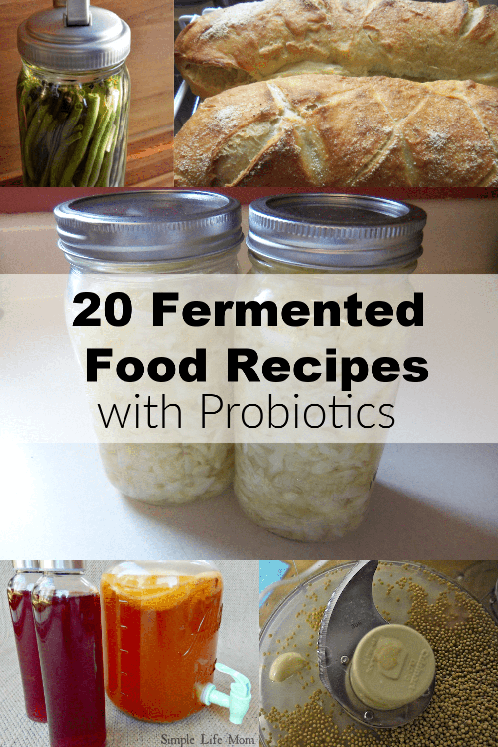 20 Fermented Food Recipes with Probiotics