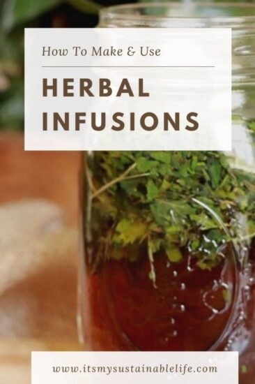 Homestead Blog Hop Feature - Herbal-Infusions-How-To-Make-Use