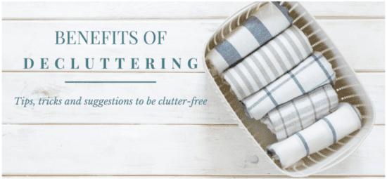 Homestead Blog Hop Feature - Benefits of Decluttering