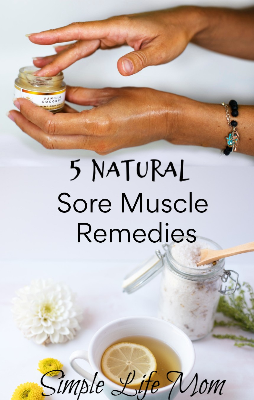 5 Natural Sore Muscle Remedies