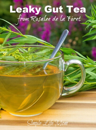 Leaky Gut Tea for Digestion Aid by Rosalee de la Foret from Simple Life Mom