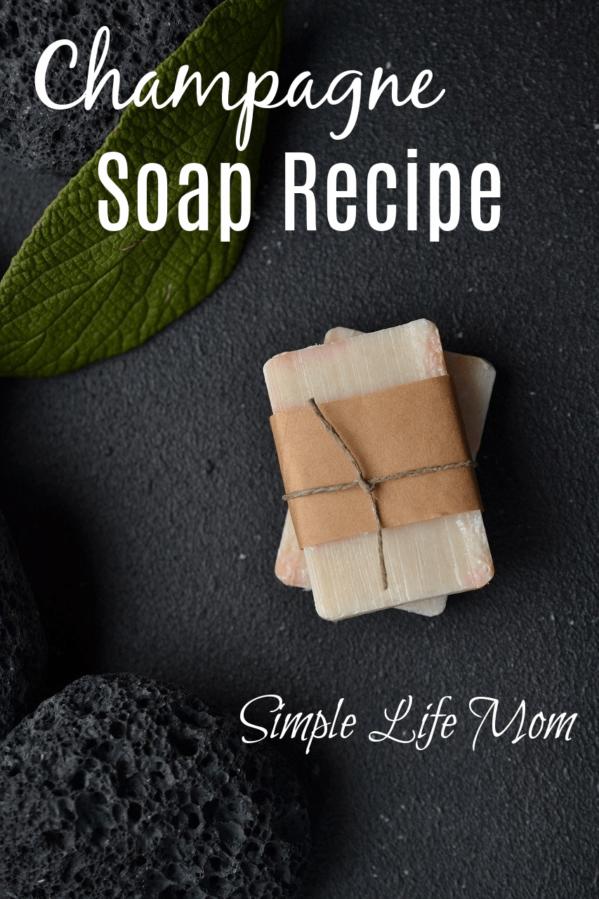 Champagne Soap Recipe