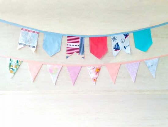 Homestead Blog Hop Feature - how-to-make-bunting