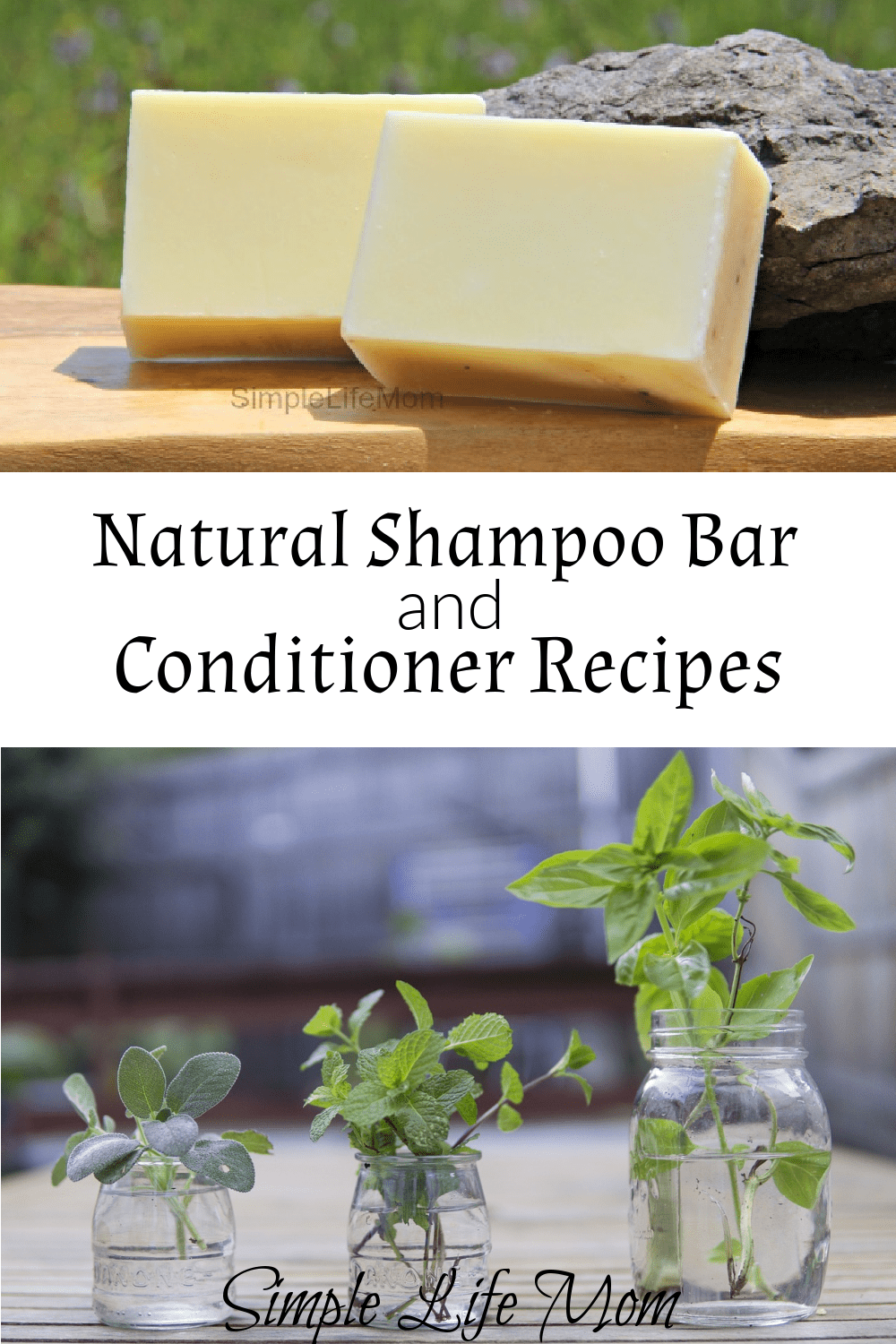 Shampoo Bar Recipe and Herbal Conditioners