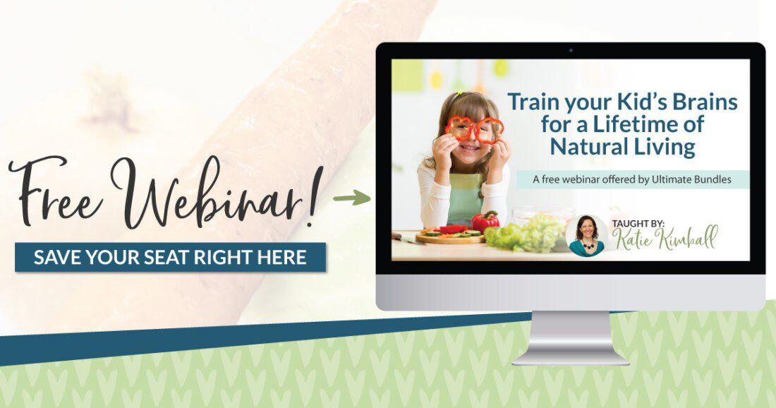 Homestead Blog Hop Announcement - Healthy Living Webinar