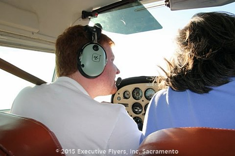 image: training new pilots at Executive Flyers, Inc.