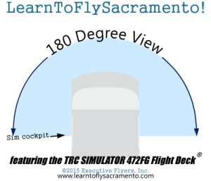 TRC 472FG with 180 degree view coming to Executive Flyers, Inc. Sacramento