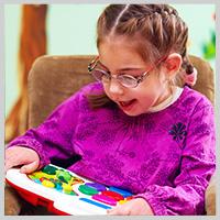 Girl enjoying her reader