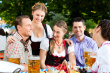 cultural immersion travel - Beer Garden in Germany