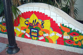 multicultural miami - Calle Ocho - center of Cuban Miami