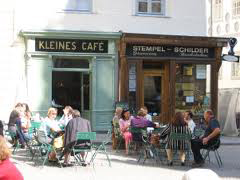 Language Learning Programs Abroad - meeting local people - cafe germany