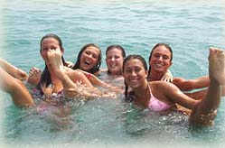 FLSAS teens swimming - Costa del Sol