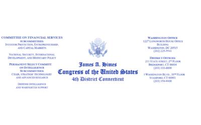 Connecticut Congressman Supports OPOs