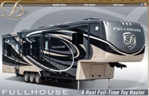 FullHouse Luxury 5th Wheel Living