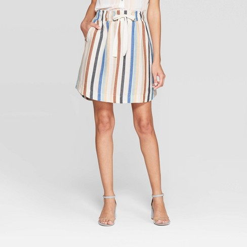 Tie Front Skirt at Target