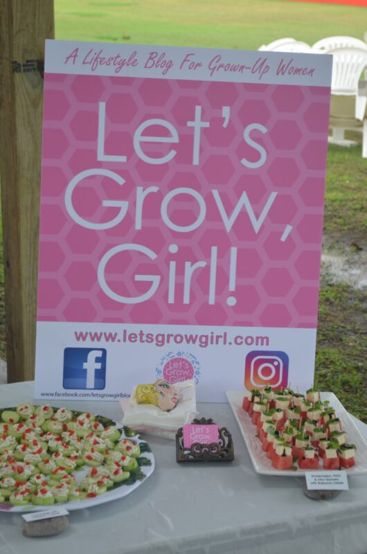 Lets Grow Girl Sign