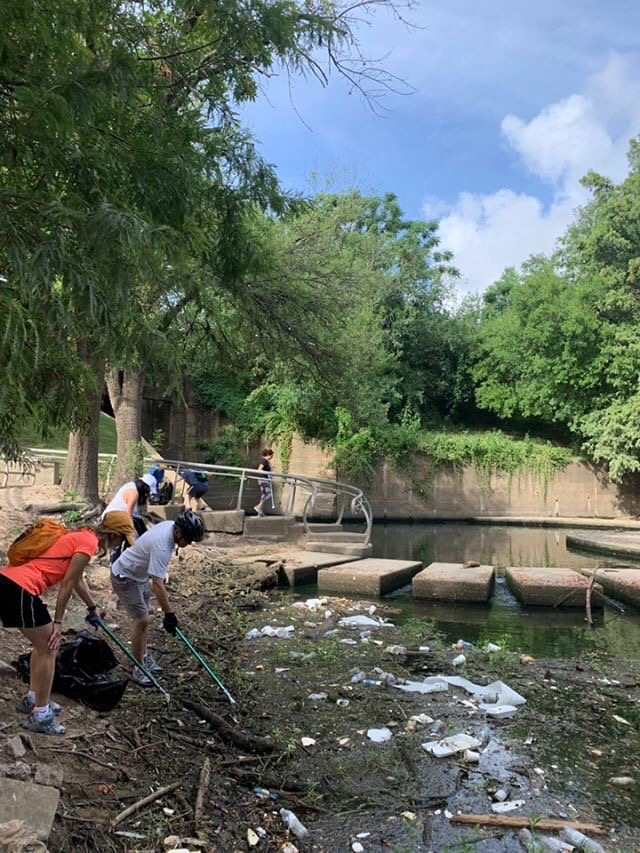Cleanup of waterway