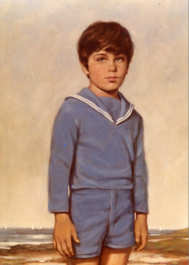 Boy in Blue - Commission
