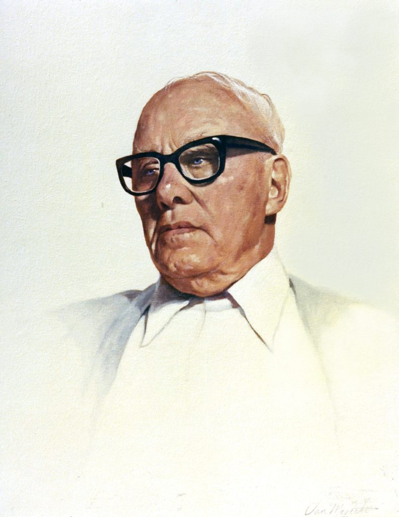 George Meany, Hung AFL-CIO Headquarters in Washington, D.C. - Commission