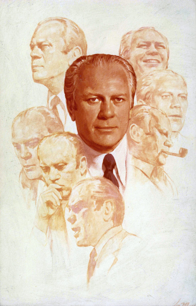 Former President Gerald Ford - Commission