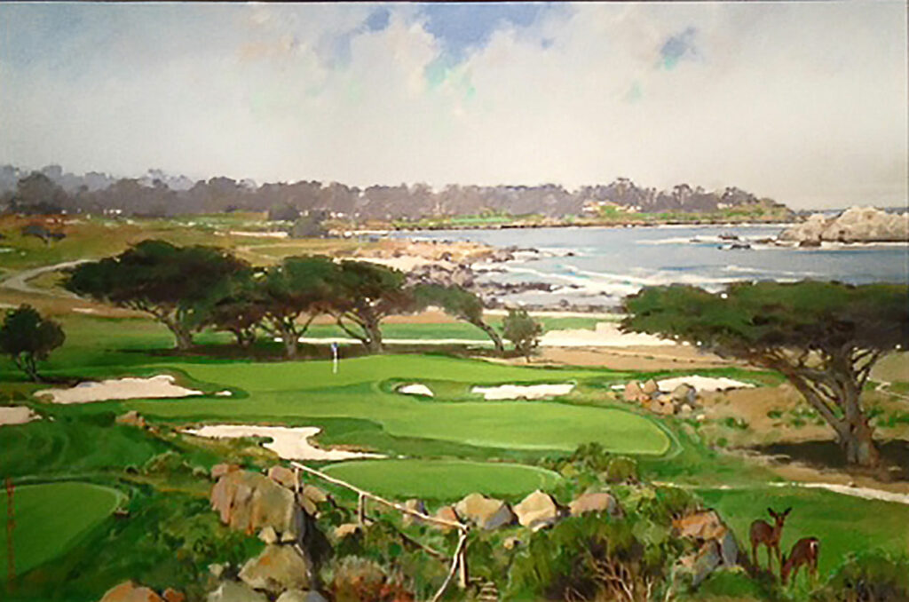 Cypress Point - Commission (Sold)