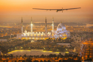 solar powered airplane