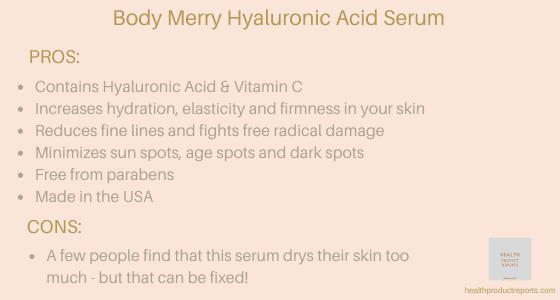 Body Merry Hyaluronic Acid Serum