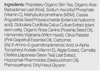 Valentia Even Glow Serum ingredients